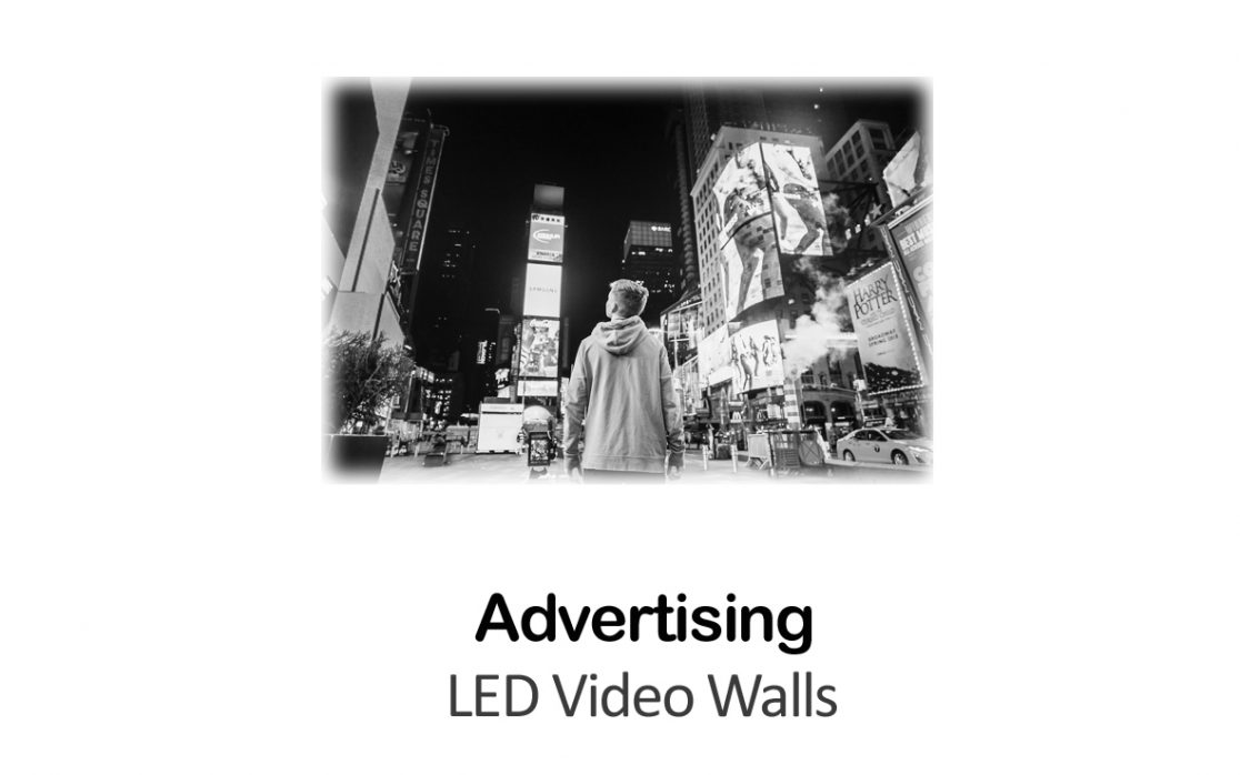 LED Video Wall for Advertising in New York