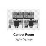 Digital Signage for Control Room in New York