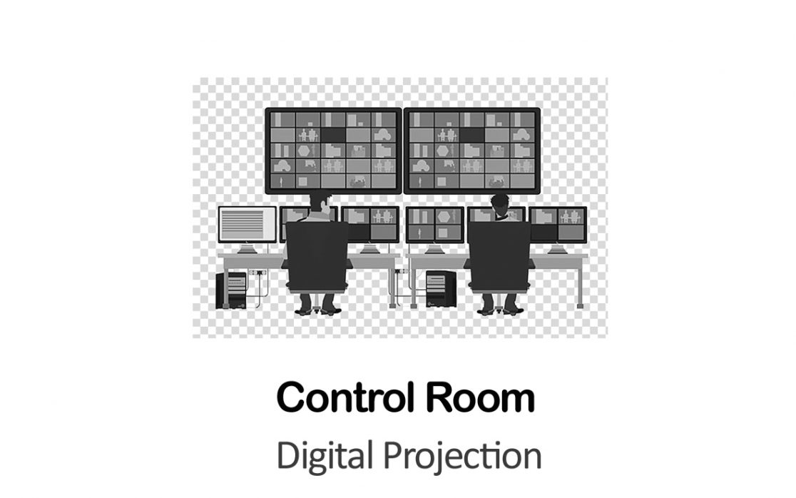 Digital Projection for Control Room in New York