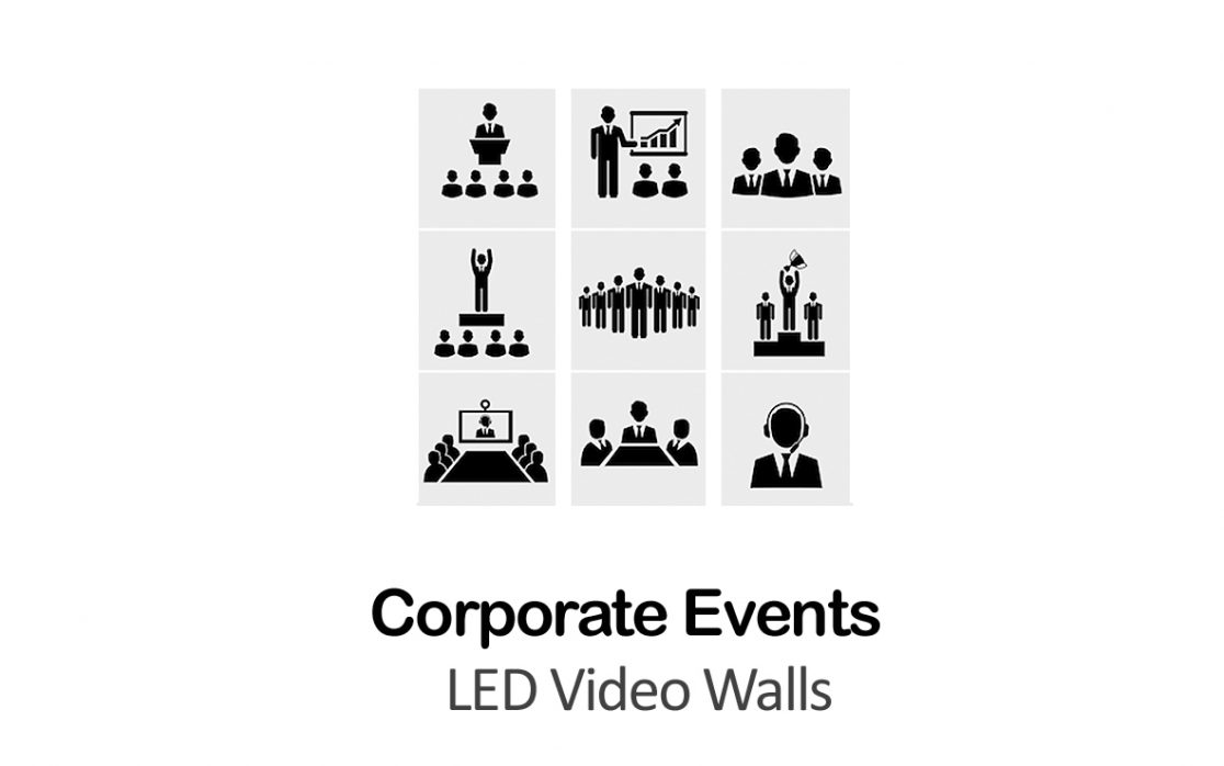 corporate events LED Video Walls NYC