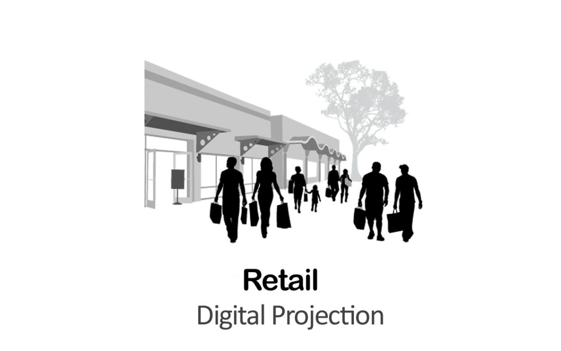 Digital Projection for Retail in New York
