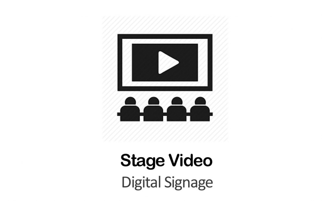 Digital Signage for Stage Video in New York