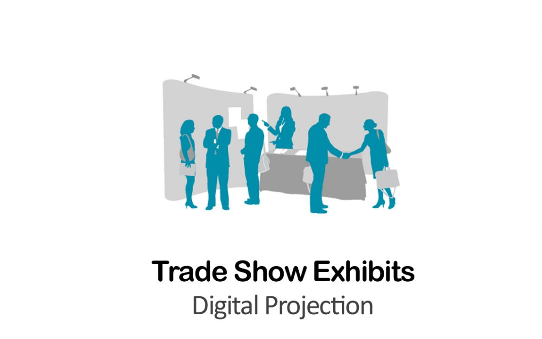 Digital Projection for Trade Show Exhibits in NYC