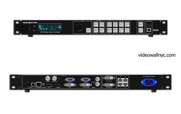 Novastar VX4S Led video wall controller in NYC