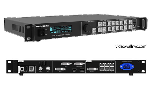 Novastar VX6S led video controller in NYC