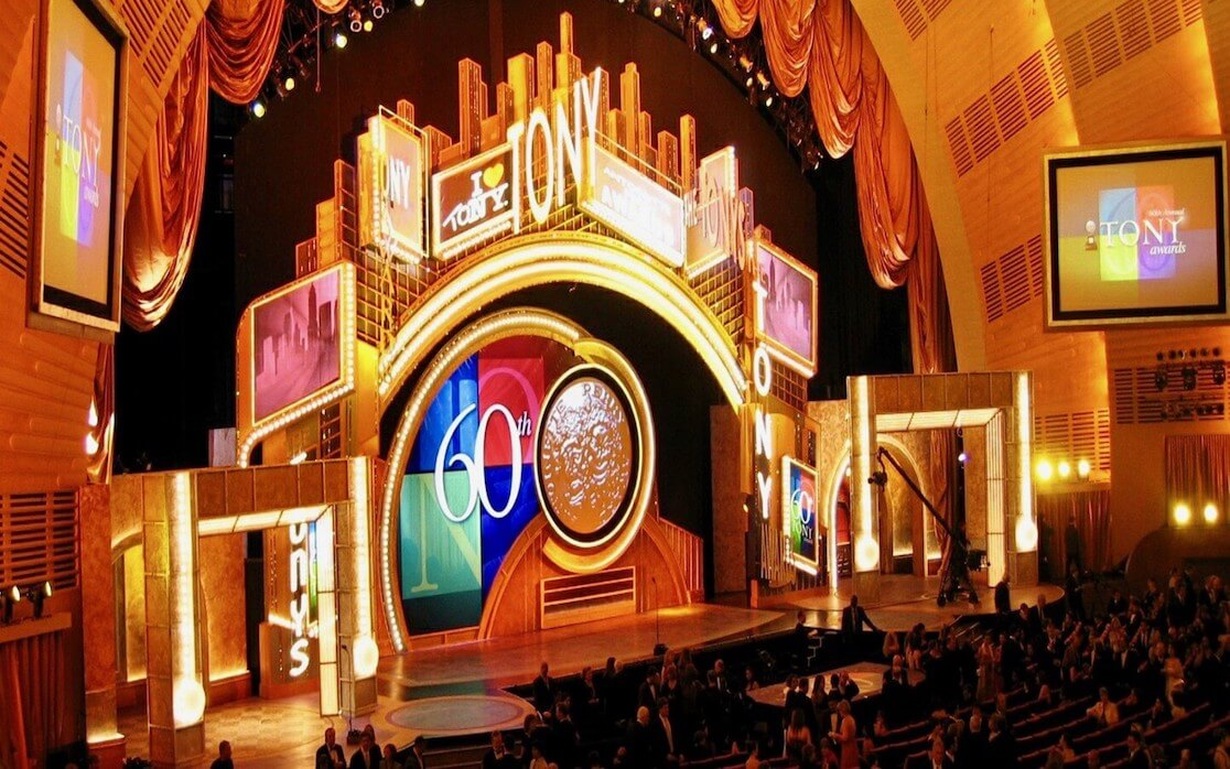 DLP projectors for Tony Awards in NYC