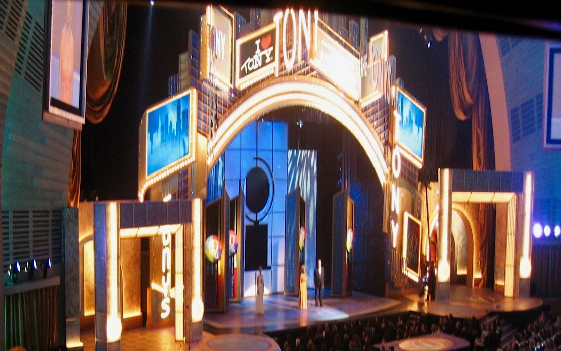 DLP projectors for Tony Awards ceremony in NYC