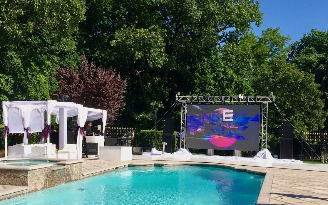 Absen A5 P5mm outdoor LED screen for entertainment