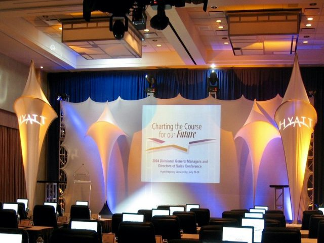 Barco projectors for corporate events