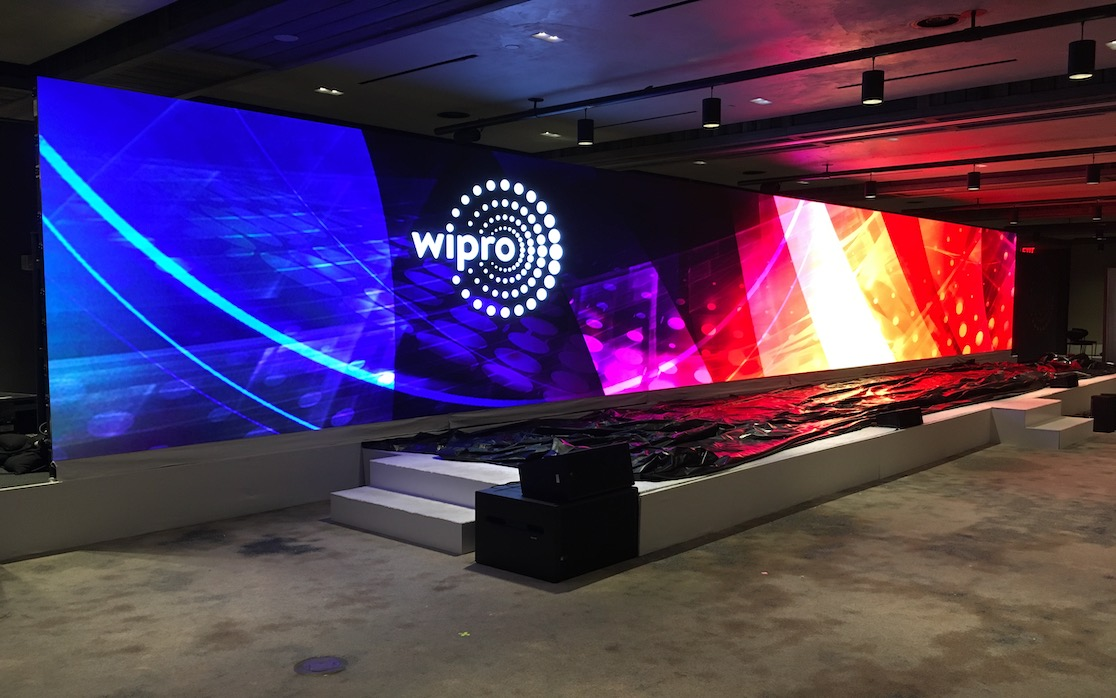 LED video wall for your event in NYC